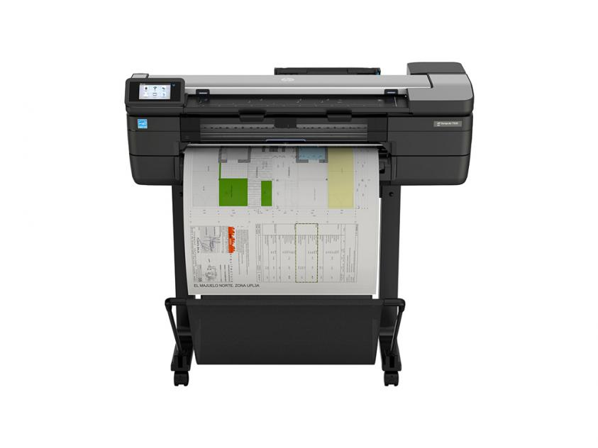 Plotter MFP HP DesignJet T830 36-in with new stand (F9A30D)