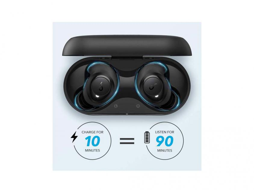 Earbuds Anker Soundcore Life Dote 2 Black (A3922G11)