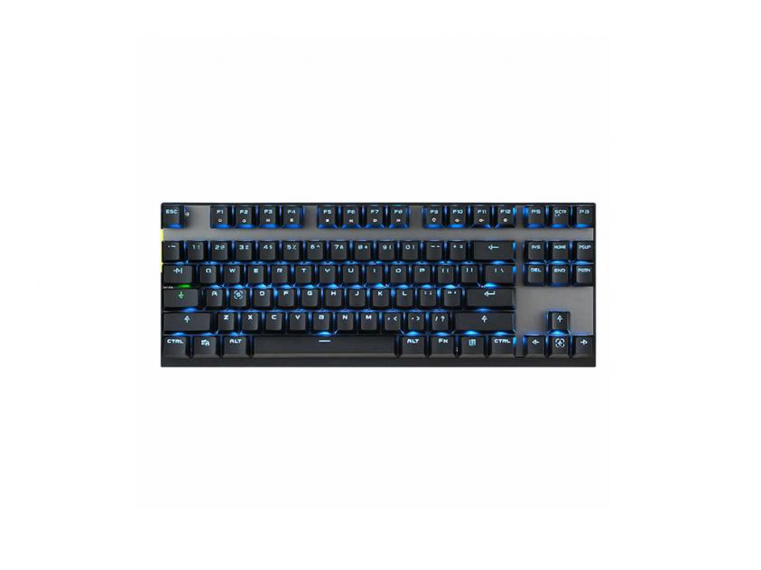 Gaming Mechanical Keyboard Motospeed GK82 Black Wireless GR Layout Blue Switches (MT00141)