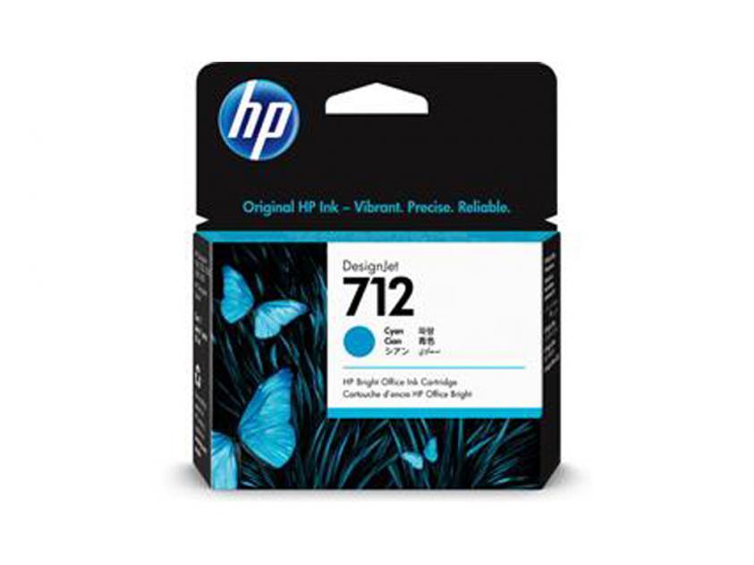 Ink HP 712 Cyan 29ml (3ED67A)