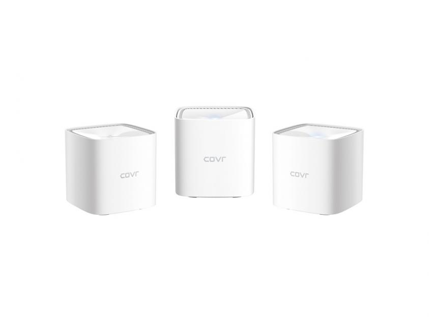 Access Point D-Link COVR-1103 AC1200 Dual Band Whole Home Mesh Wi-Fi System (3-Pack) (COVR-1103)