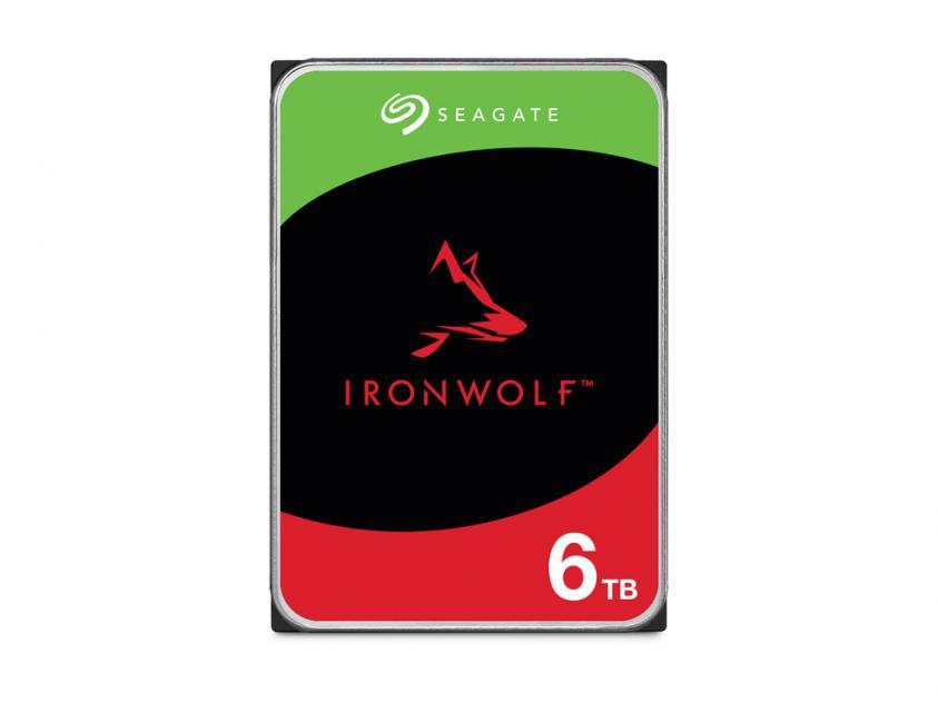 Internal HDD Seagate IronWolf 6TB SATA III 3.5-inch (ST6000VN001)