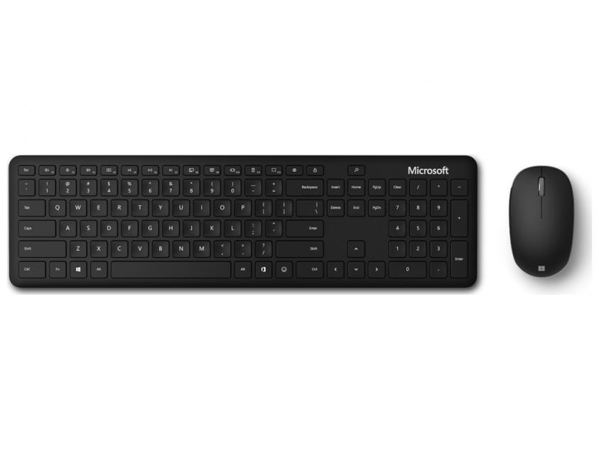 Keyboard/Mouse Microsoft Set Bluetooth Black ENG Layout (QHG-00026)