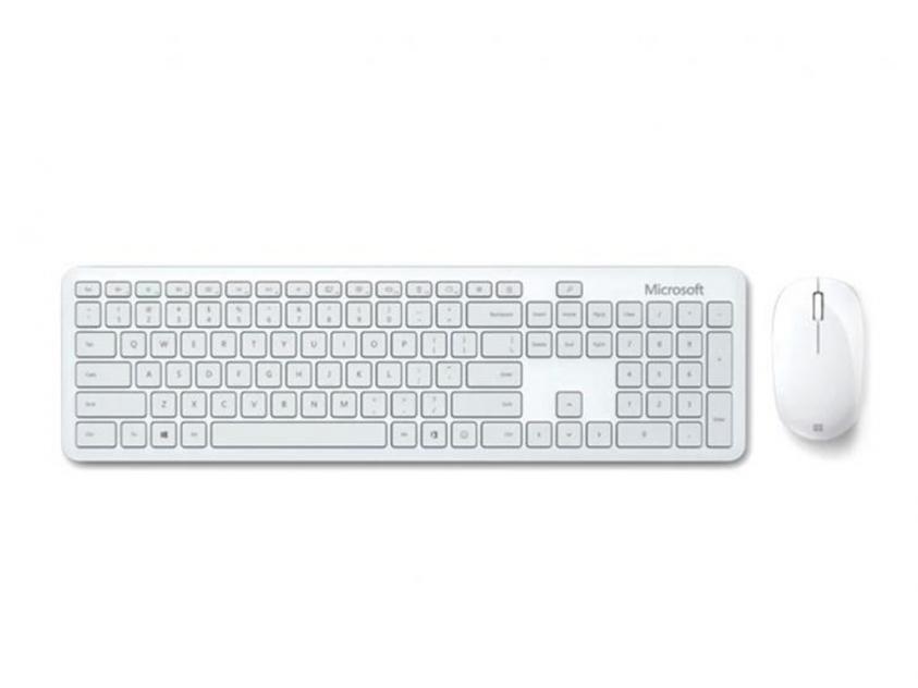 Keyboard/Mouse Microsoft Set Bluetooth Monza Grey (QHG-00056)