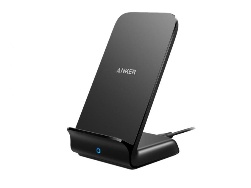 Wireless Charger Anker Powerwave+ Stand Black (A2526HF1)