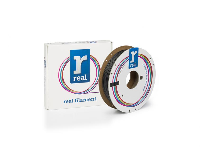 3D Printer Filament Real Flex 1.75mm Spool of 0.5Kg Black (REFFLEXBLACK500MM175)