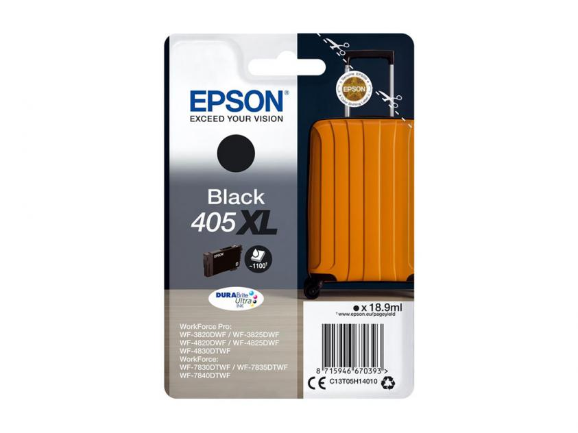 Ink Epson 405XL Black 1100Pgs (C13T05H14010)
