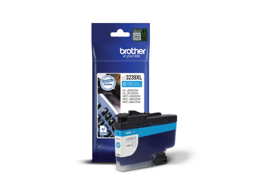 Ink Brother LC-3239XLC Cyan 5000Pgs (LC-3239XLC)