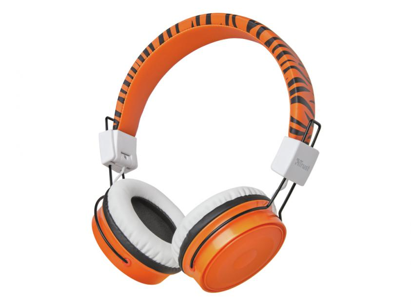 Headphones Trust Comi Bluetooth Wireless Kids Orange (23583)