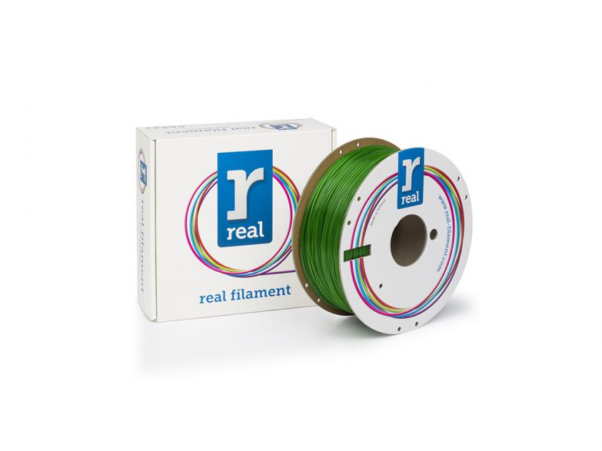 3D Printer Filament Real PETG 1.75mm Spool of 1Kg Green (NLPETGGREEN1000MM175)