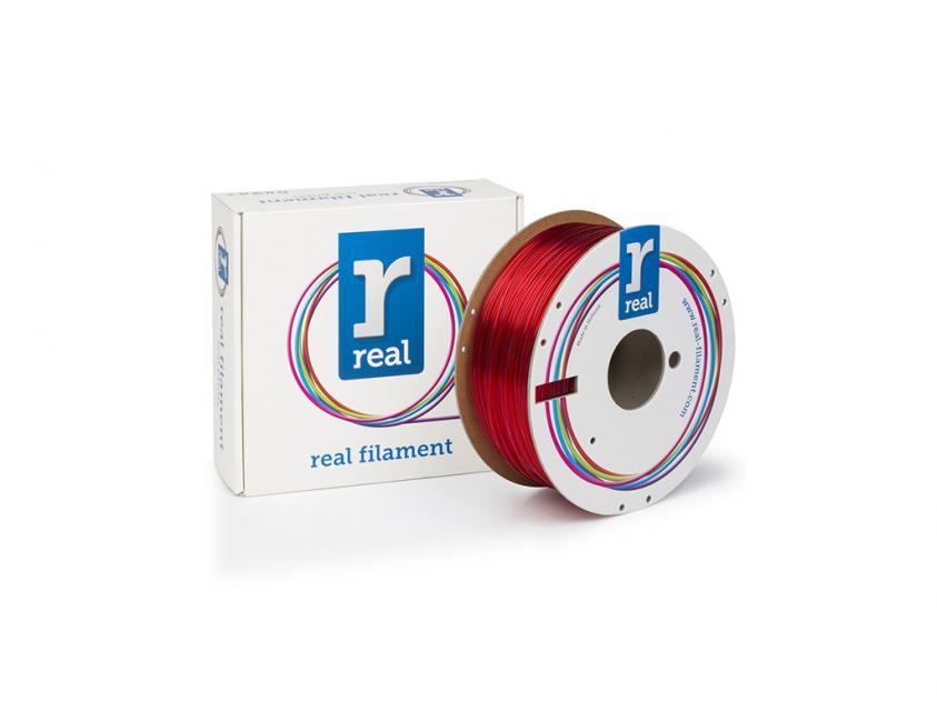 3D Printer Filament Real PETG 1.75mm Spool of 3Kg Red (NLPETGRED3KG)