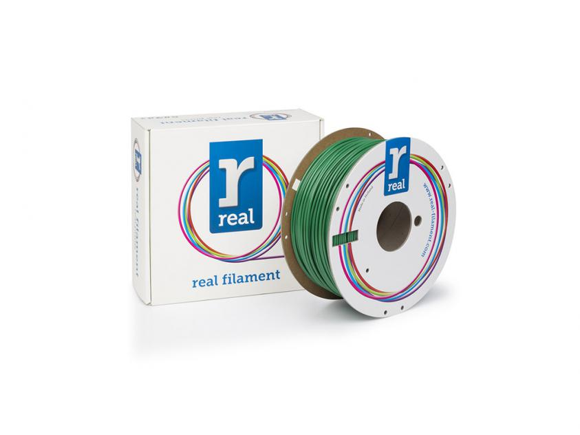 3D Printer Filament Real PETG 2.85mm Spool of 1Kg Green (NLPETGSGREEN1000MM3)