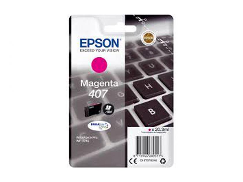 Ink Epson 407 Magenta 1900Pgs (C13T07U340)