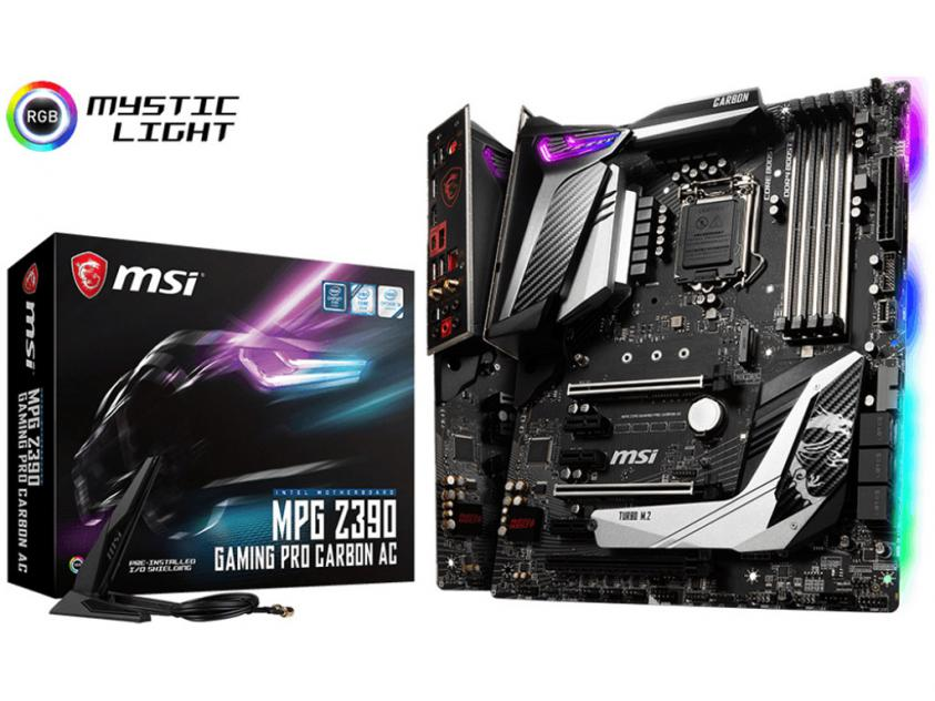 Motherboard MSI MPG Z390 Gaming Pro Carbon AC (7B17-008R)