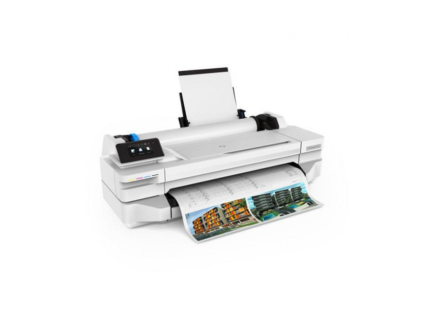 Plotter HP DesignJet T130 24-in 2Y ( 5ZY58A-WH)