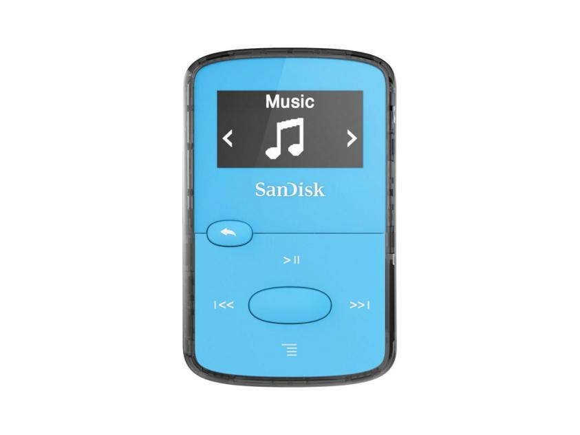 MP3 Player Sandisk Clip Jam 8GB Blue (SDMX26/008G/G46B)