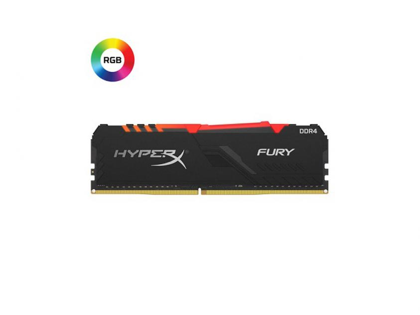 RAM Kingston HyperX Fury RGB 16GB DDR4 3733MHz (HX437C19FB3A/16)