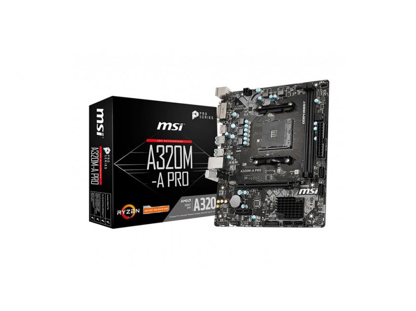 Motherboard MSI A320M-A Pro (7C51-001R)