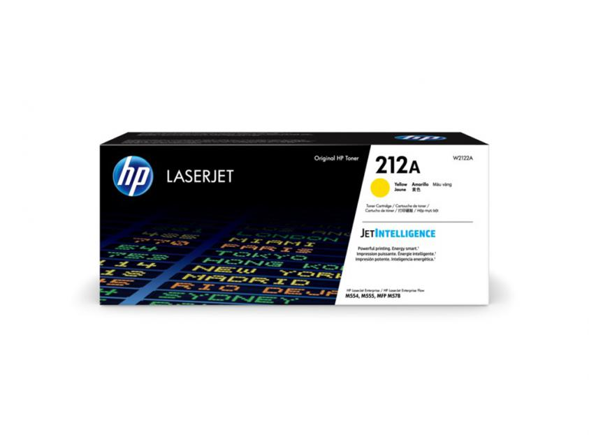 Toner HP 212A Yellow 4500Pgs (W2122A)