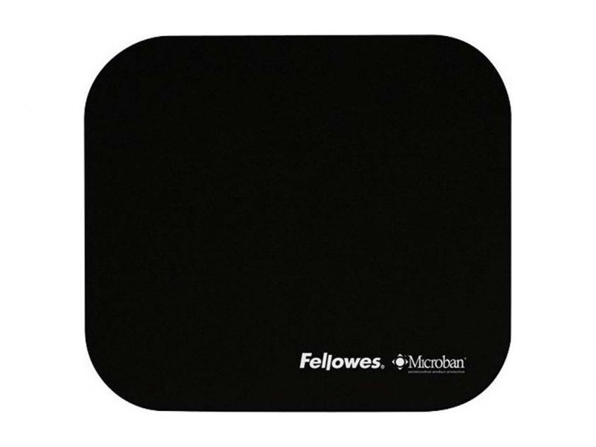 MousePad Fellowes Microban Black (5933907)