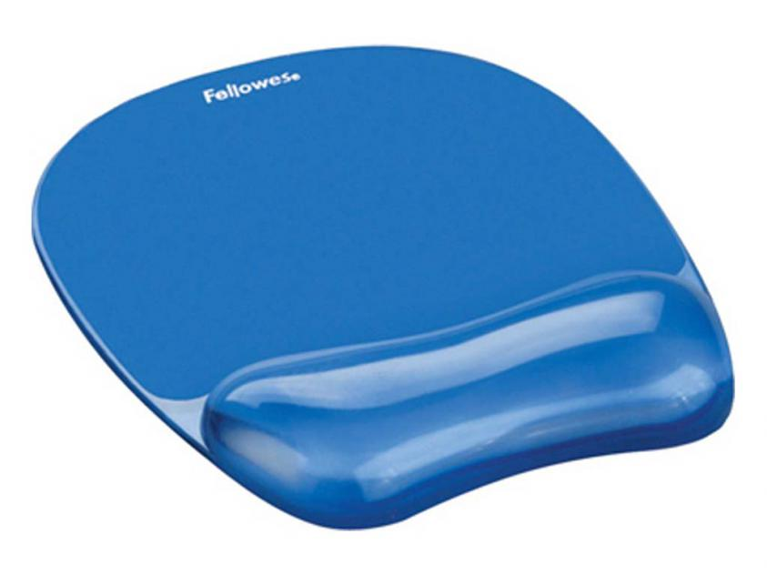 MousePad Fellowes Wrist Rest Crystal Blue (91141)