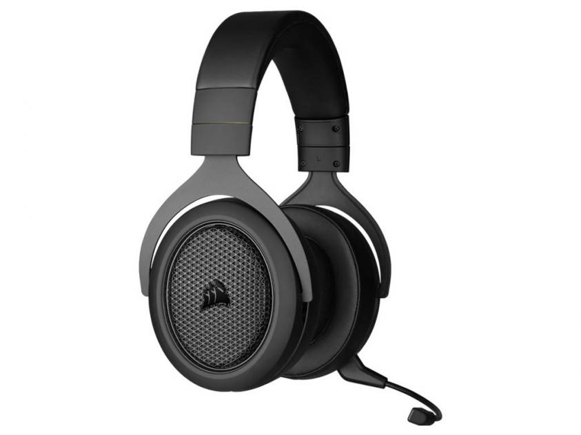 Gaming Headset Corsair HS70 Wired with Bluetooth Carbon (CA-9011227-EU)