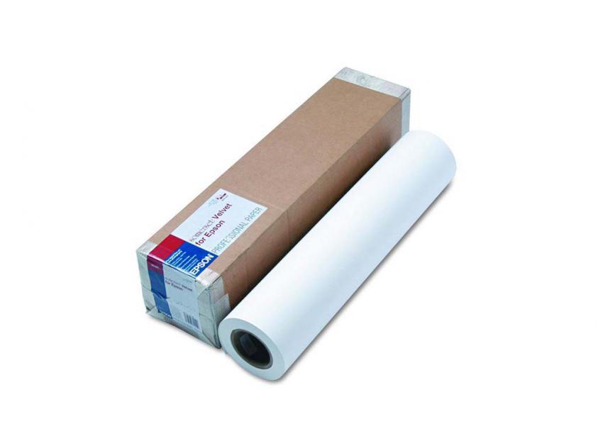 Photo Paper Epson Somerset Velvet Fine Art Roll 255gr/m² (C13S041702)