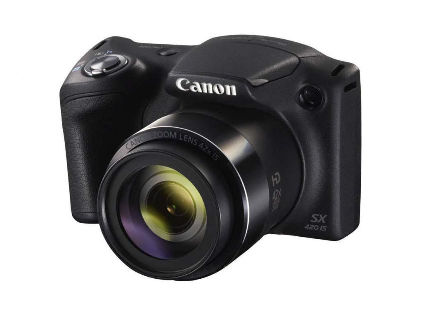 Digital Camera Canon PowerShot SX420 IS Black (AJ1068C002AA)