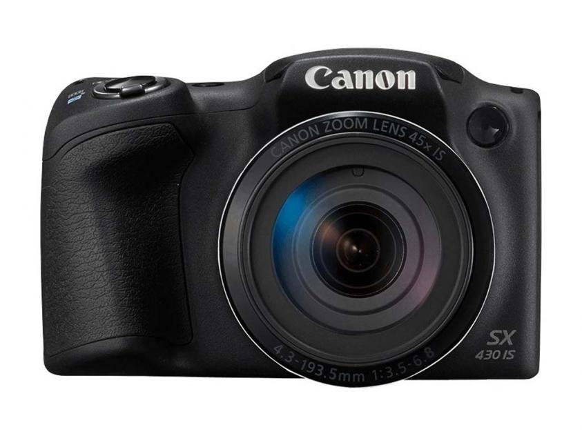 Digital Camera Canon PowerShot SX430 IS Black (1790C002AA)