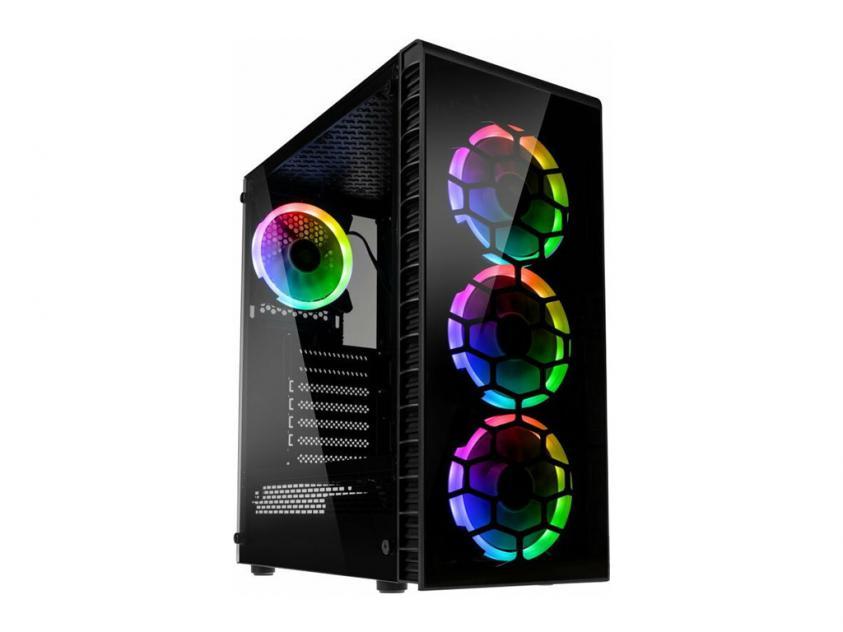 Case Kolink Observatory Lite RGB Black (GEKL-065)