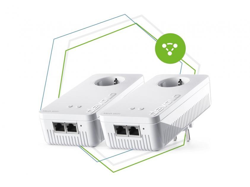 PowerLine Devolo Mesh WiFi 2 Starter Kit (8759)