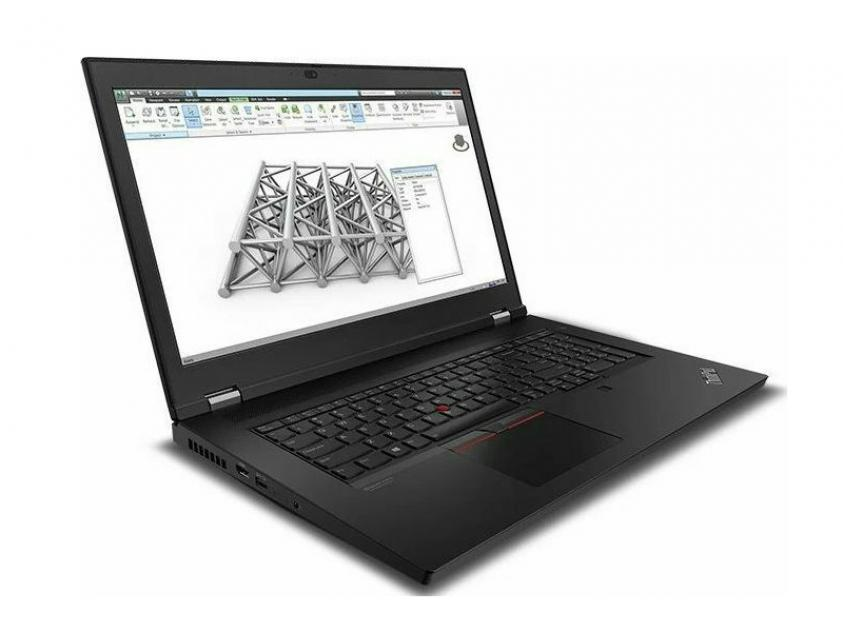 Laptop Lenovo ThinkPad P17 17.3-inch i7-10750H/16GB/512GBSSD/Nvidia Quadro T1000/W10P/3Y/Black (20SN002SGM)