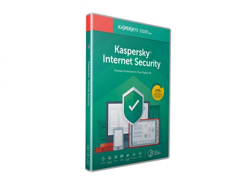 Kaspersky Internet Security 2020 (1 License,1 Year) Renewal (KL1939X5AFR-20MSBR)