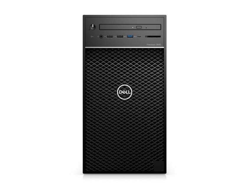 Workstation Desktop Dell Precision 3640 i7-10700/16GB/512GBSSD/1TBHDD/Nvidia Quadro P620/W10P/5Y (PRT3640I7107001651)