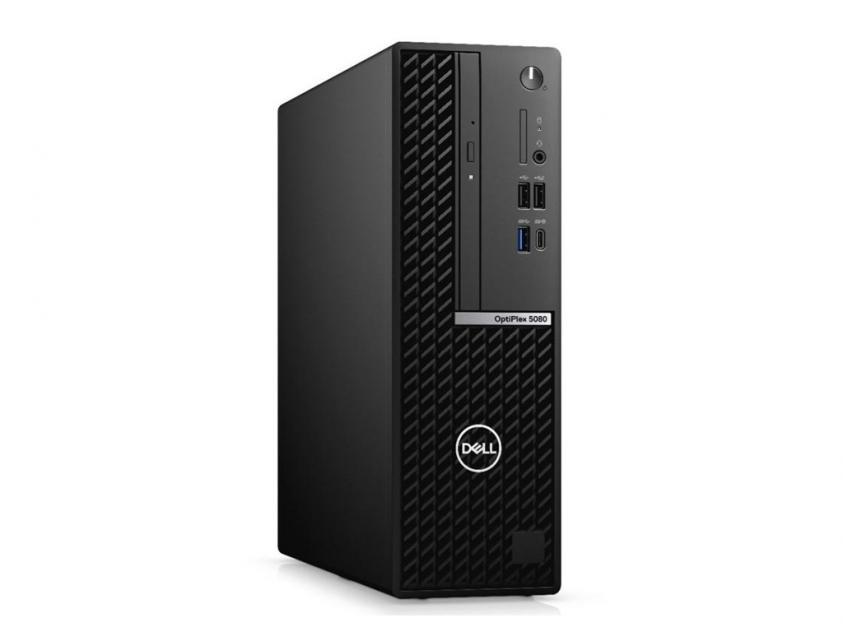 Desktop Dell Optiplex 5080 SFF i7-10700/8GB/256GBSSD/W10P/5Y (N017O5080SFF)