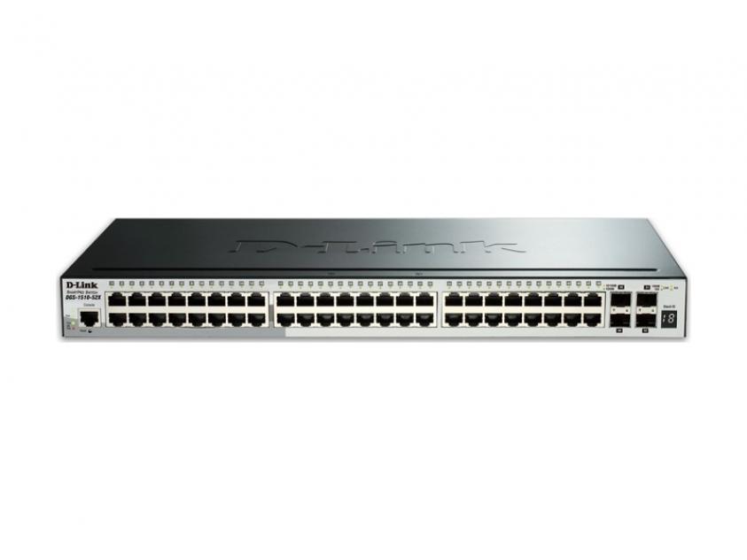Switch D-Link DGS-1510-52X 48-Port 10/100/1000 Mbps (DGS-1510-52X)