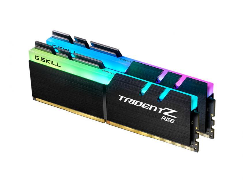 RAM G.Skill TridentZ RGB For AMD 32GB DDR4 3200MHz CL16 Kit (F4-3200C16D-32GTZRX)
