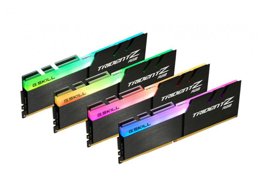 RAM G.Skill TridentZ RGB 32GB DDR4 4000MHz CL15 Kit (F4-4000C15Q-32GTZR)