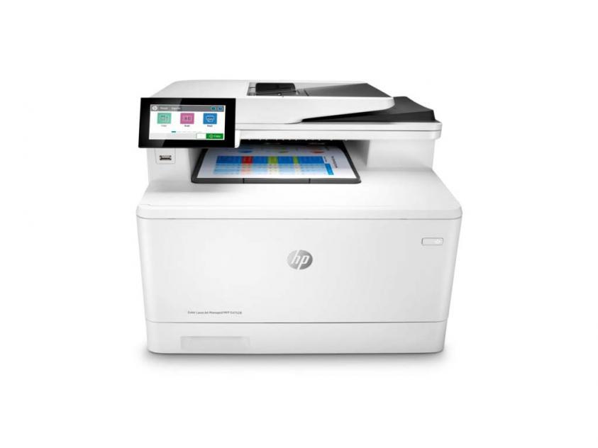 MFP HP Color LaserJet Managed E47528f (3QA75A)