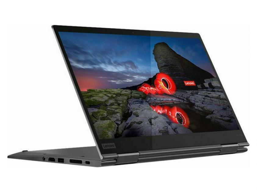 Laptop Lenovo ThinkPad X1 Yoga Convertible 14-inch Touch i7-10510U/16GB/1TB/W10P/3Y/Grey (20UB003NGM)