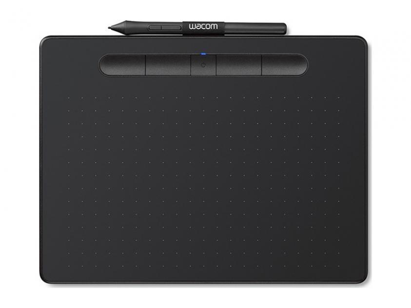 Digitizer Wacom Intuos M Bluetooth Black  (CTL-6100WLK)