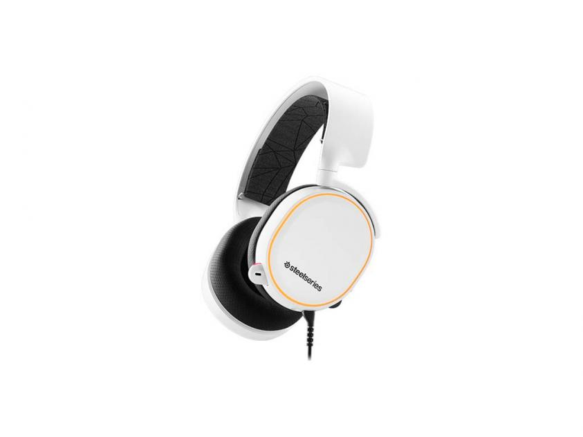 Gaming Headset SteelSeries Artics 5 2019 Edition White (61507)