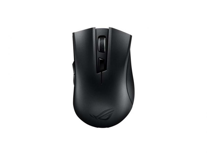 Gaming Mouse Asus Rog Strix Carry Gun-Metal Grey Wireless (90MP01B0-B0UA00)
