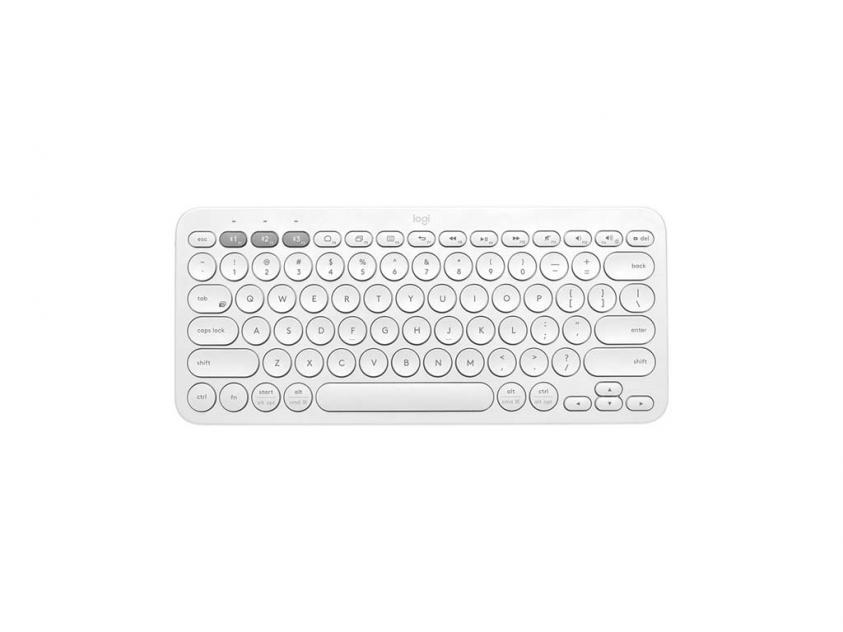 Keyboard Logitech K380 Wireless White ENG Layout (920-009591)