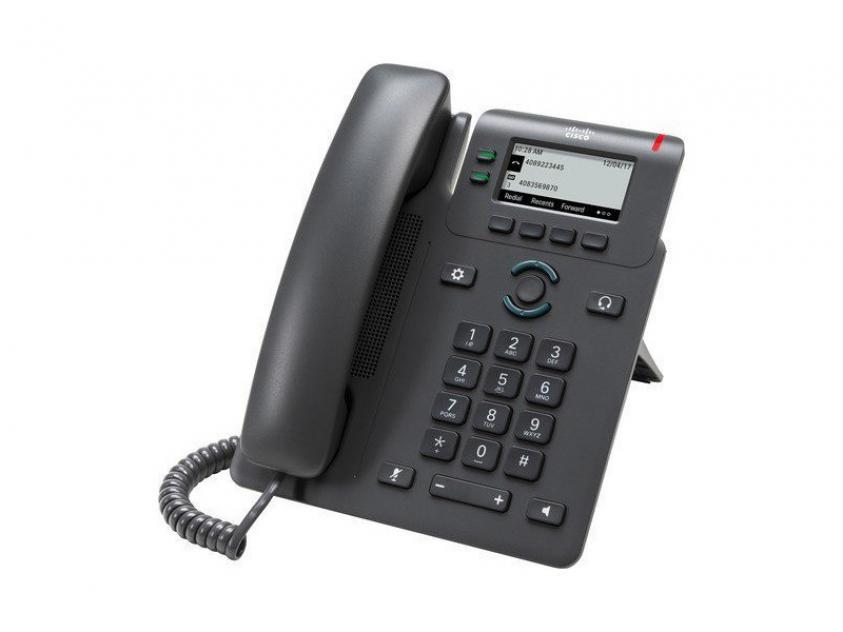 IP Phone Cisco 6821 Black (CP-6821-3PCC-K9)