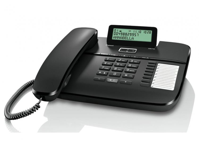 Phone Gigaset DA710 Black (S30350-S213-R101)