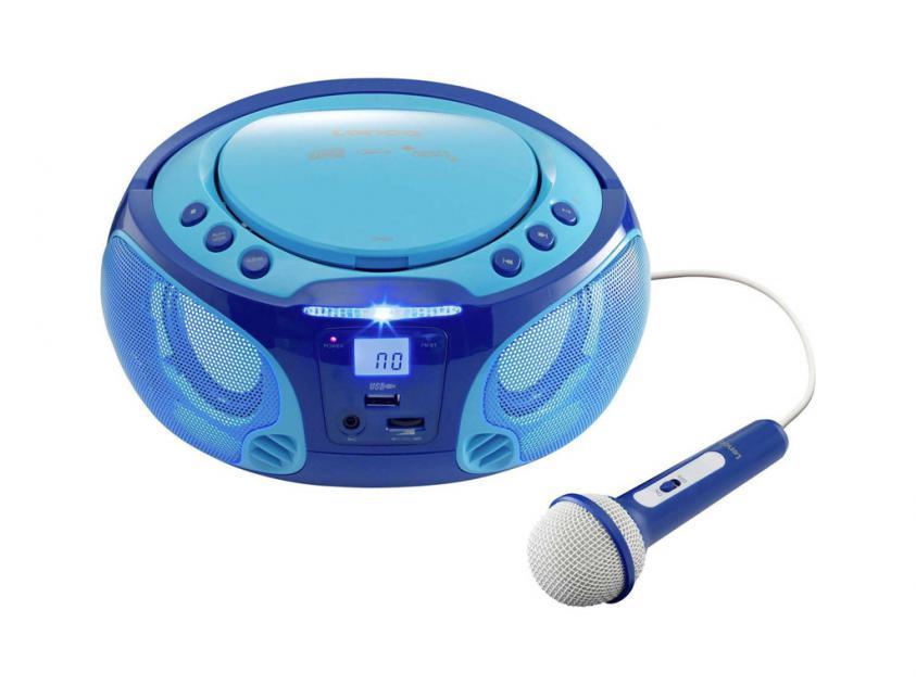 Portable Speaker Radio Lenco SCD-650 Blue (LEN-SCD-650BL)