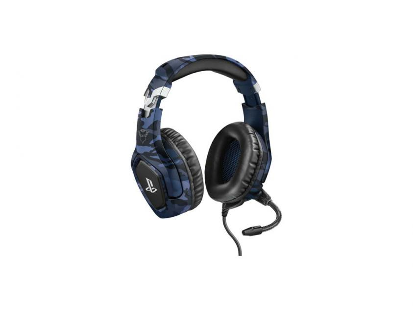 Gaming Headset Trust GXT 488 Forze-B For PlayStation Blue Wired (23532)