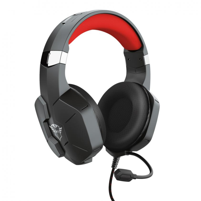 Gaming Headset Trust GXT 323 Carus Wired Black (23652)