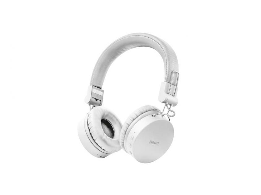Headset Trust Tones Bluetooth White (23909)